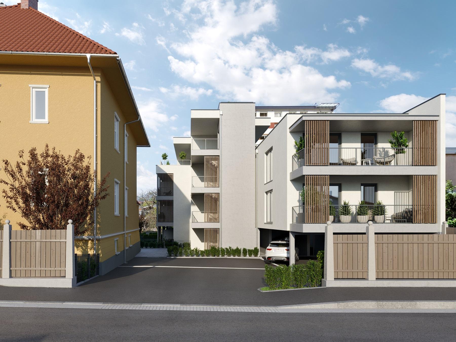 """Kleines Bauherrenmodell Neubauprojekt """"Villa Neufeld"""""""