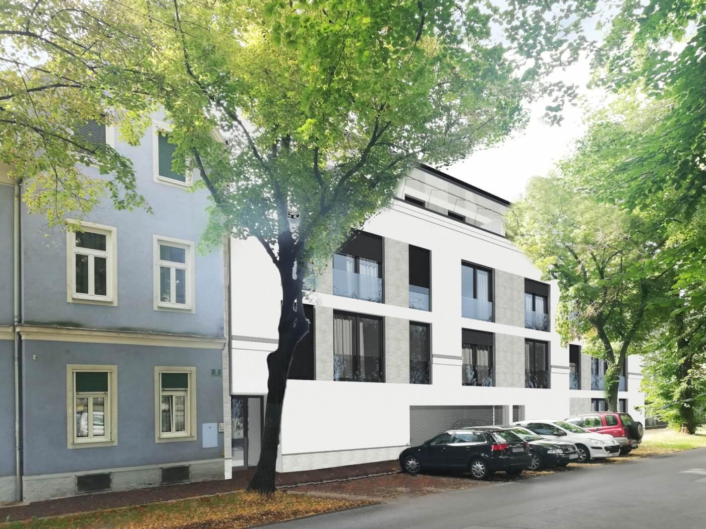 großes Bauherrenmodell Straßganger Straße 7